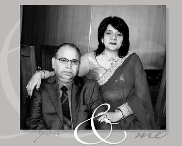 Virji 50th Birthday Flash Mount Album