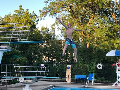 Hinsdale Pool Fun July 2019