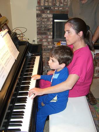 Visiting Lou y Clare y Family, 6/13-14/06