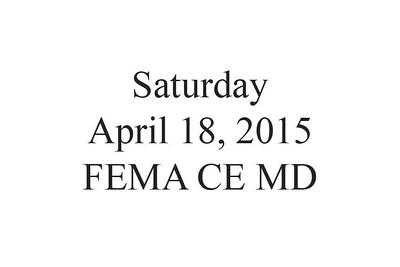 FEMA US&R Canine Evaluation MD