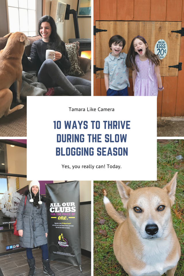 We all go through the slow seasons of blogging and social media influence. Here are 10 tips to navigate a slow blogger season. #community #bloggingcommunity