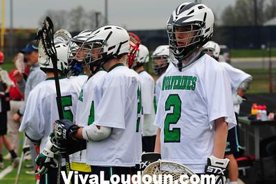 Boys JV: Heritage at Woodgrove (4-15-2013 by Jeff Vennitti)