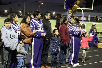 Center High School Senior Night at Roughrider Stadium