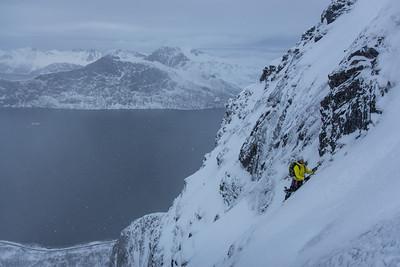 03 11 Winter climbing trip to Senja, Norway