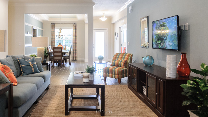 Interior views of the Maronda Homes Sierra decorated model home availale for public inspection at 2849 Sw Savona Blvd  Port St Lucie FL 34953.
