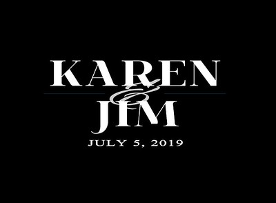 Karen & Jim's Wedding!