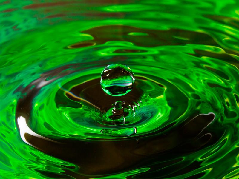 Antigravity in Green