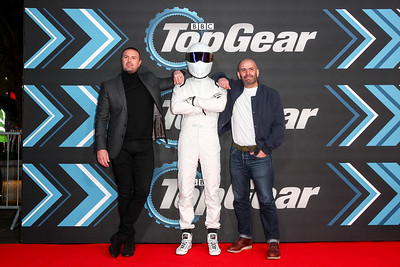 20/1/20 TOP GEAR WORLD PREMIERE THRILLS PACKED  LEICESTER SQUARE ODEON