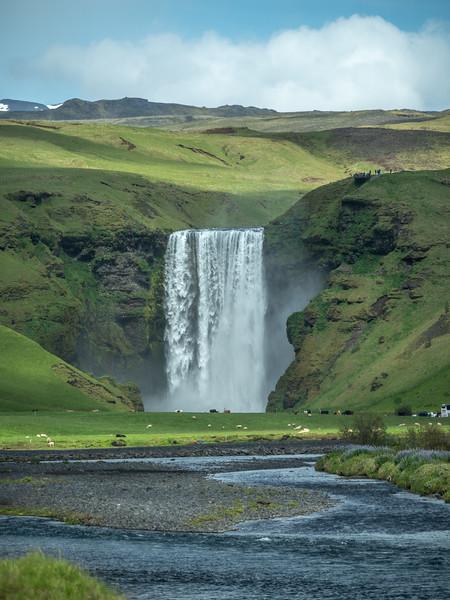 Iceland Waterfall #59    Photography by Wayne Heim