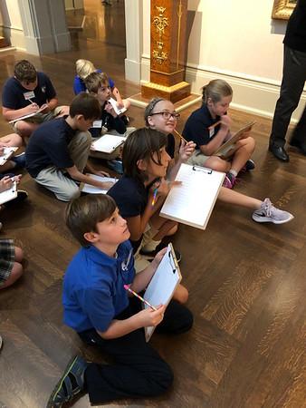 5th Grade Art Museum 2018