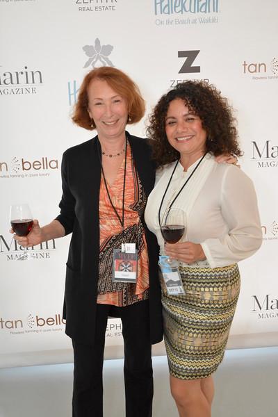 Suzanne Martinez and Georgina Rodriguez