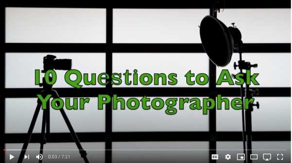 10 Questions to Ask Your Photographer Before a Portrait