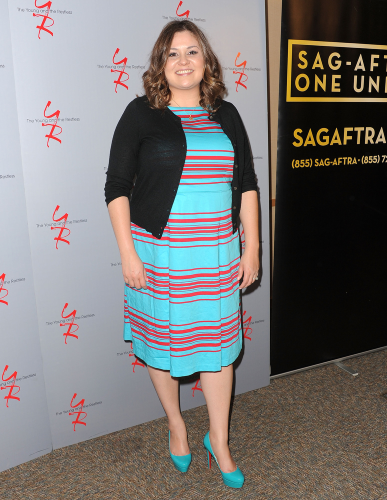 ". Producer Angelica McDaniel attends the 40 years of ""The Young and The Restless\"" celebration presented by SAG-AFTRA at SAG-AFTRA on June 4, 2013 in Los Angeles, California.  (Photo by Angela Weiss/Getty Images)"