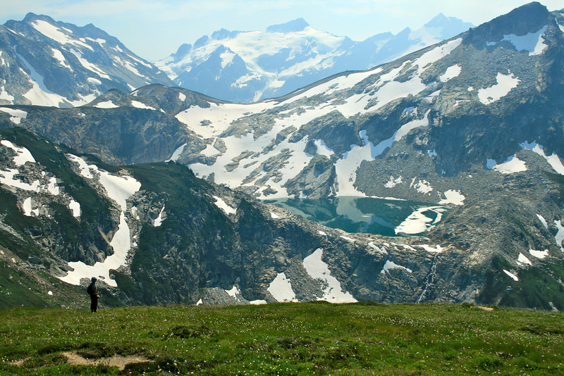 Laurie, Clark Mtn & Butterfly Glacier, Triad Lake.