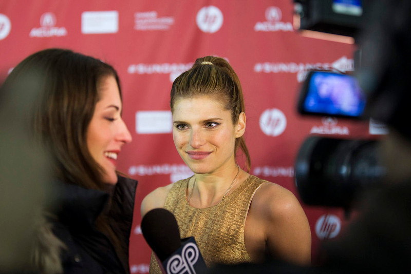". Director Lake Bell arrives for the premiere of the film ""In A World\"" during the Sundance Film Festival in Park City, Utah, January 20, 2013. REUTERS/Lucas Jackson"