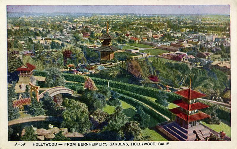 Hollywood From Bernheimer's Gardens