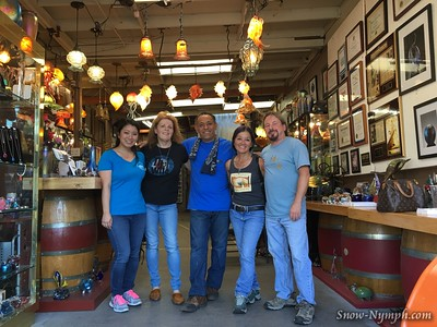 2016-10-01  Glass Blowing class in Santa Barbara