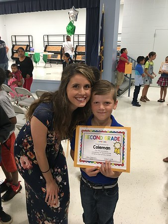 Coleman 2nd Grade Honors Day
