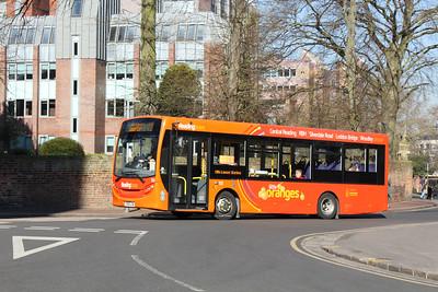 133, YX63LGV, Reading Buses, The Forbury