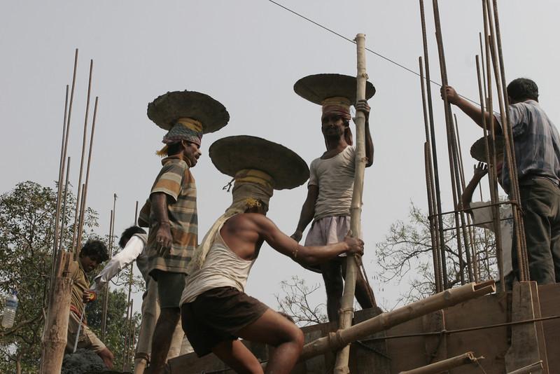 House builders, Calcutta, Kolkata