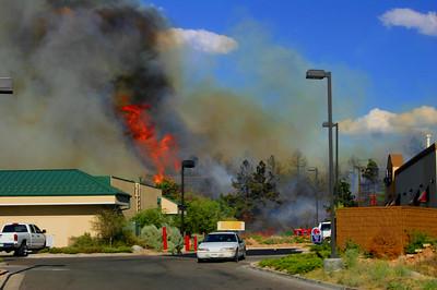 Blakeland & Santa Fe Wildland Fire