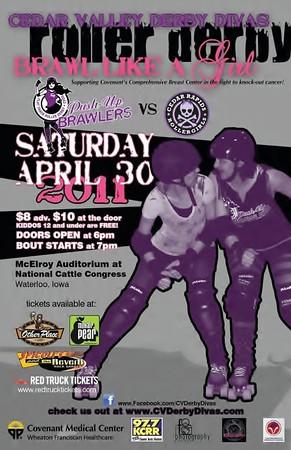 CVDD vs Cedar Rapids Roller Girls (04-30-11)