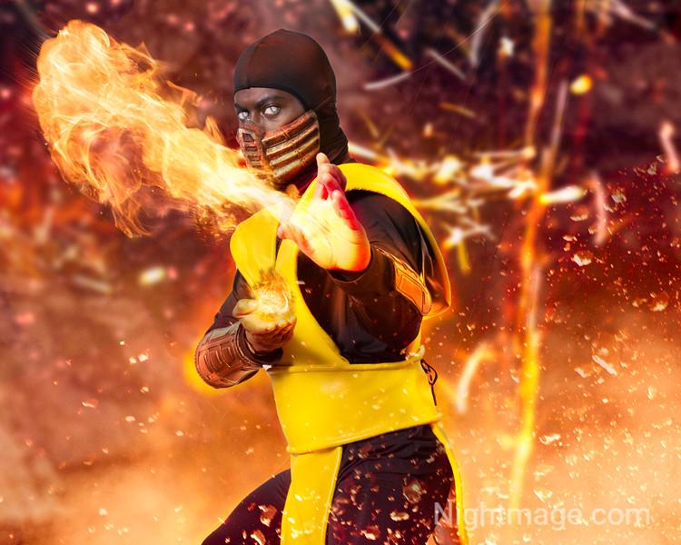 Scorpion from Mortal Kombat