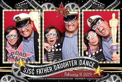 SJSC Father Daughter-  Left Booth