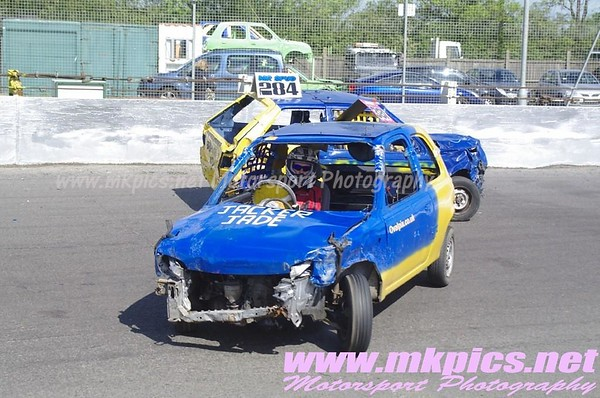 Junior Bangers, Northampton, 25 May 2014