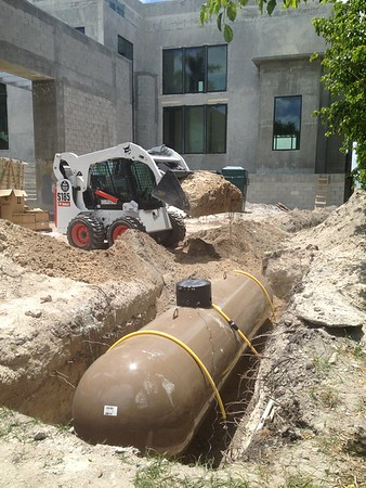 New Construction Propane 6. Key Biscayne, FL