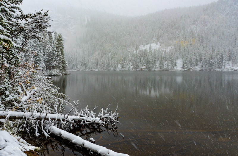 Snow at Bear Lake