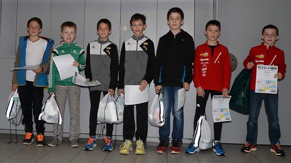 Siegerehrung Jugendlaufcup 2015