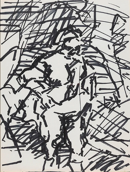 Frank Auerbach after Rembrandt