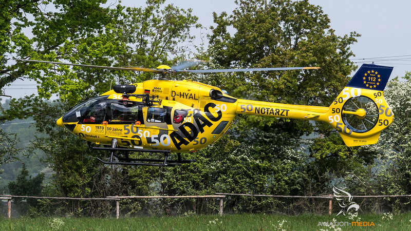 ADAC / Airbus Helicopter H145 / D-HYAL / 50 Jahre Christoph 1 Livery