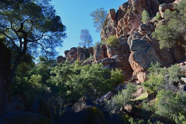 Pinnacles - East to West