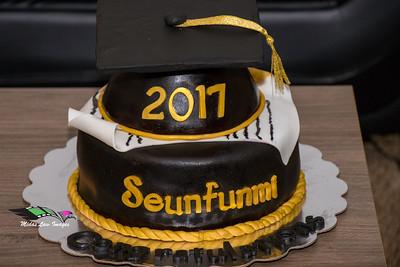 Seunfunmi Ogunbunmi Commencement  KSU