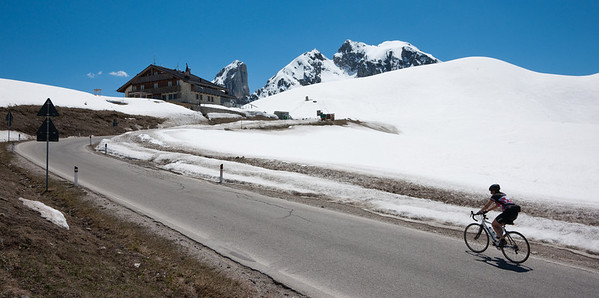 Giau Pass - cycling