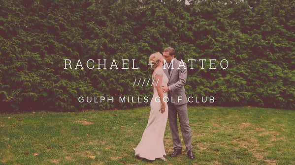RACHAEL + MATTEO ////// GULPH MILLS GOLF CLUB