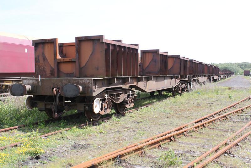 Margam WRD Stored Wagons 22/05/11