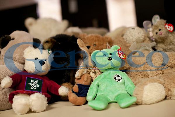 Teddy Bear Toss - Geneseo Ice Hockey 2011