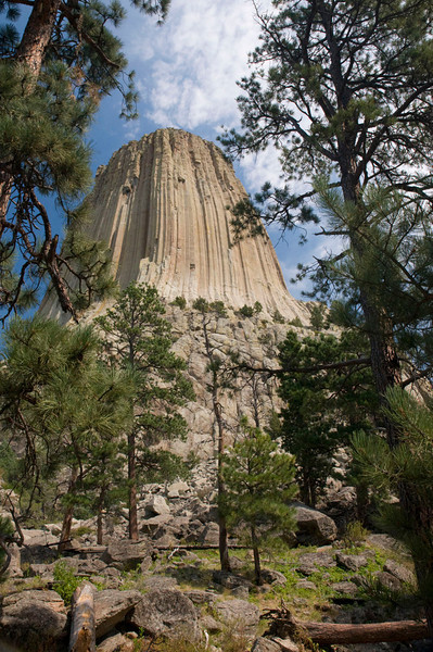 Devil's Tower - site used in 'Close Encounters of the Third Kind' movie