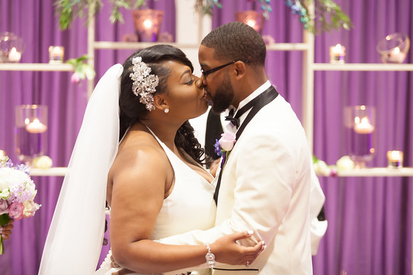 Jarrius Jones & Retisa Redmond Wedding