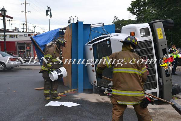 Seaford F.D Ot Truck Sunrise Hwy C/S Jackson Ave 8-8-2013