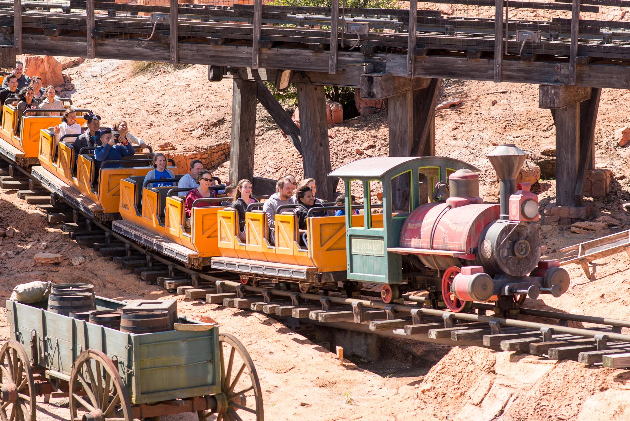 Big Thunder Mountain Railroad - Walt Disney World Magic Kingdom