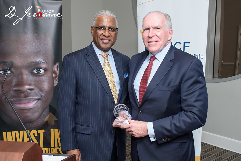 Birmingham Mayor William Bell and Former CIA Director John Brennan