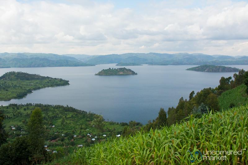 Lake Burera Near Musanze, Rwanda