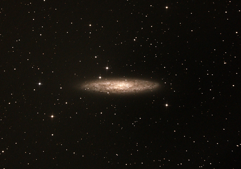 Caldwell C65 - NGC253 - Sculptor, Silver Coin, Silver Dollar Galaxy - 30/10/2016 (Processed cropped stack)