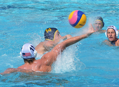 Fisher Cup 2011 Bronze Medal Game - USA Junior National Team vs Newport Water Polo Foundation 5/22/11.  Final score 9 to 7.  Third Place USA JNT vs NWPF.  Photos by Allen Lorentzen.