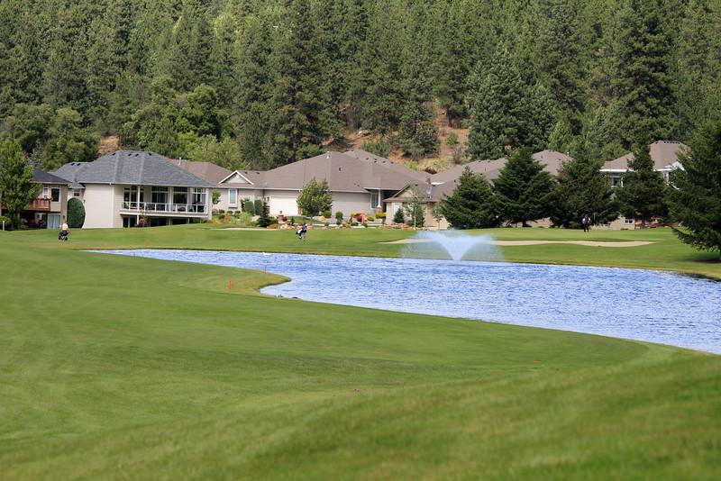 #15 Fairway and green, Medowwood GC,  Liberty lake, Wa