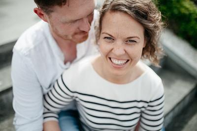 Kelly & Kev's engagement shoot